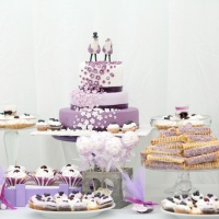 ornaments and decorations wedding table sweets
