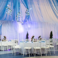 wedding decorations in banquet hall
